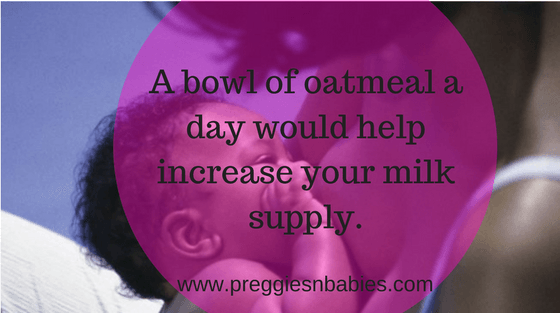 How to increase your milk supply with a bowl of oatmeal (2)